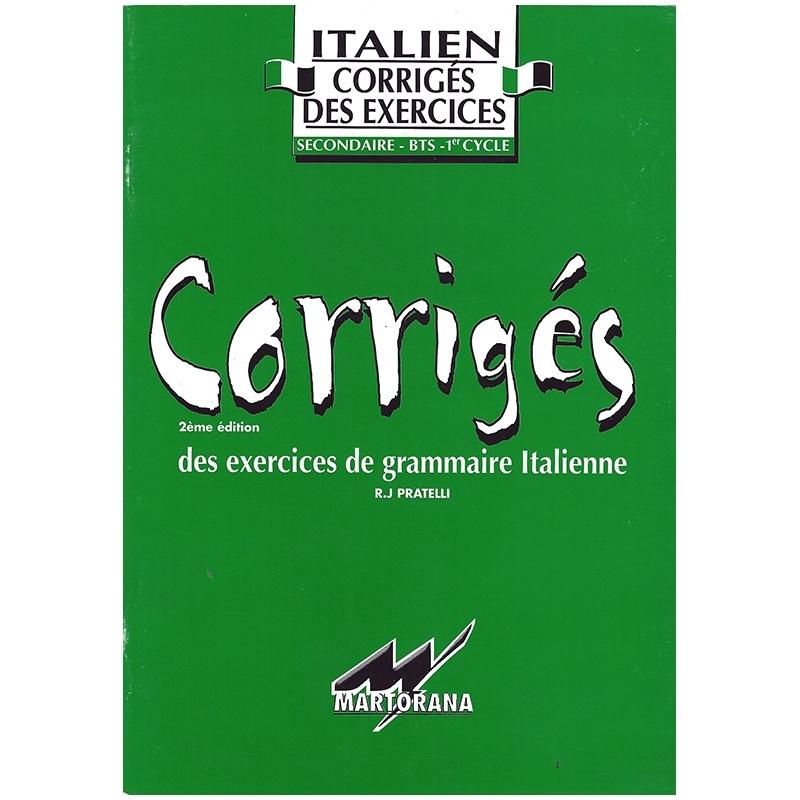 Chiarissimo - Corriges - Méthode apprentissage Italien