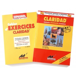 Claridad - Livre de base + Cahier d'excercices