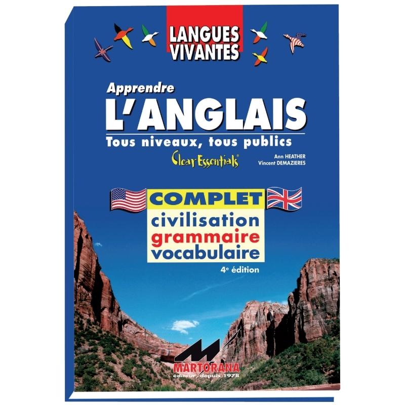 Clear Essentials - Livre de base - Apprentissage de l'anglais